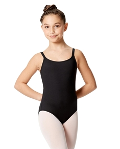 Girls Camisole Double Crisscross Leotard Veronica