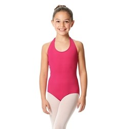 Girls Halter Microfiber Dance Leotard Mallory