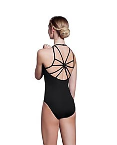 Dramatic Low-cut back performance leotard Rory