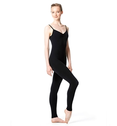 Brushed Cotton Low Back Long Dance Unitard Madelyn