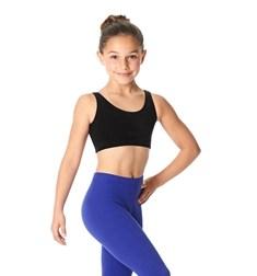 Girls Brushed Cotton Tank Dance Bra Beatrice