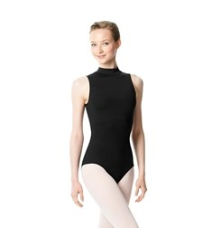 Turtleneck Microfiber Performance Leotard Anna