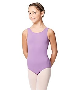 Girls Microfiber Tank Leotard Yolanda