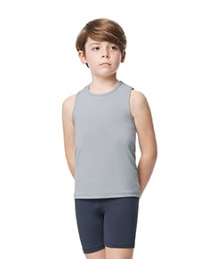 Boys Microfiber Tank Dance Top Leo
