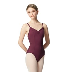 Gathered Front Camisole Ballet Leotard Tatiana
