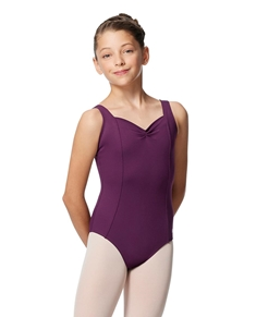 Wide Strap Tactel Dance Leotard for Girls Vasilisa