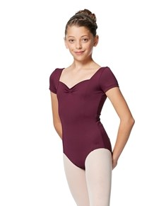 Girls Cup Sleeve Tactel Ballet Leotard Anfisa