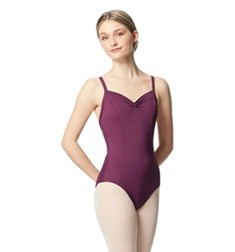 Women Pinch Front Tactel Camisole Leotard Darya