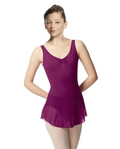 Girls Skirted Tank Ballet Leotard Minna