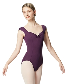 Princess Seam Cap Sleeve Leotard Clover