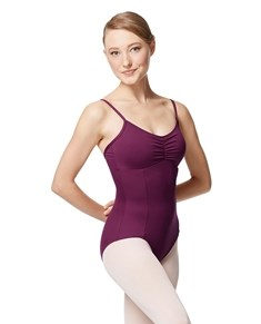 Pinch Front Camisole Leotard Delphine With Bra Pockets