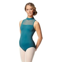 Womens Turtle Neck Tactel Dance Leotard Klara