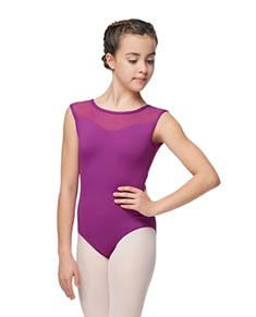 Girls Cap Sleeve Leotard Anoushka