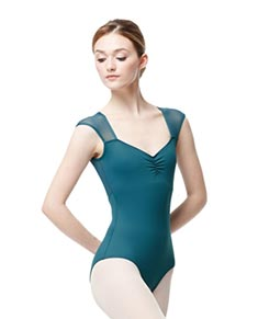 Cap Sleeve Leotard Tulip