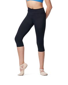 Girls High Waist Capri Leggings Fannia