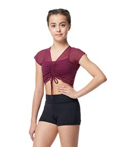 Girls High Waist Shorts Sophie