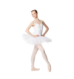 Ballet Camisole Tutu 4 Layer Tulle Dress Everly