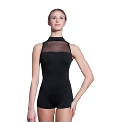 Kelly High Neck Short Unitard