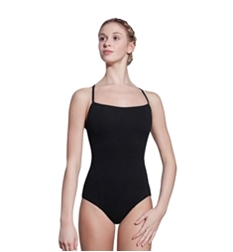Amelia Camisole Leotard With Crossed Straps