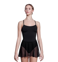 Stephanie Camisole Skirted Leotard
