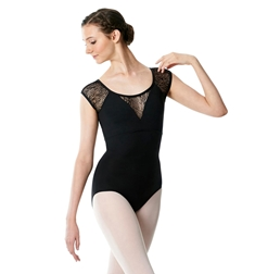 Cap Sleeve Leotard Anouk