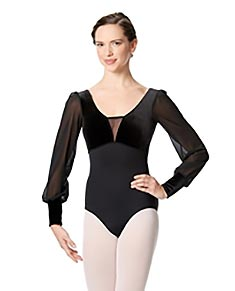 Long Sleeve Leotard Fiorella
