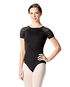 Short Sleeve Leotard Alessia