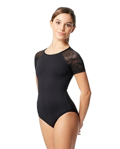Tween Short Sleeve Leotard Alessia
