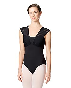 Cap Sleeves Leotard Albina
