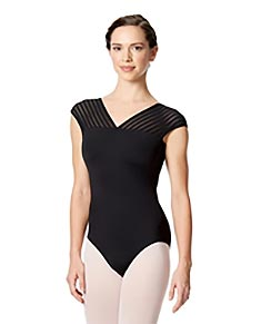 Short Sleeves Leotard Milagros
