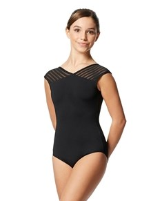 Tween Short Sleeves Leotard Milagros
