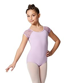 Girls Cap Sleeve Leotard Amita