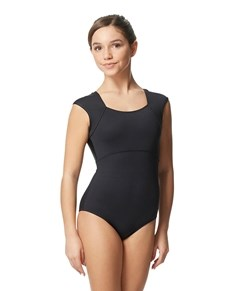 Tween Cap Sleeve Fashion Leotard Irma