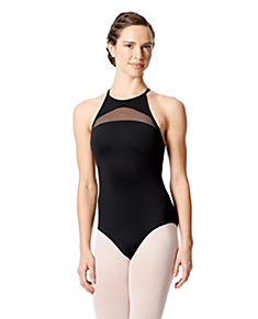 Halter High Neck Leotard Fabiana
