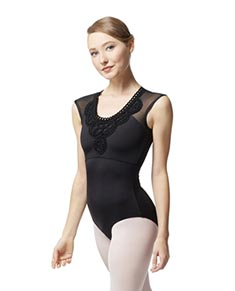 Cap Sleeve Leotard Valerie