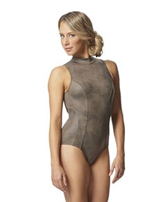 Mock Neck Leotard Arlette