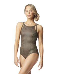 High Neck Leotard Elle