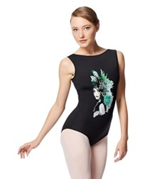 Boat Neck Tank Dance Leotard Gala